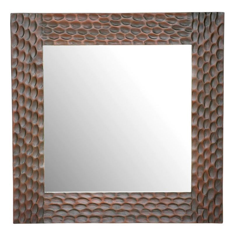 Crafted Home Damascus Davis Square Mirror by Overstock