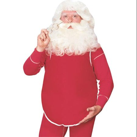 Santa Clause Belly Costume - Painting Your Belly For Halloween