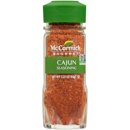 McCormick Gourmet Cajun Seasoning, 2.25 oz (Best Store Bought Cajun Seasoning)