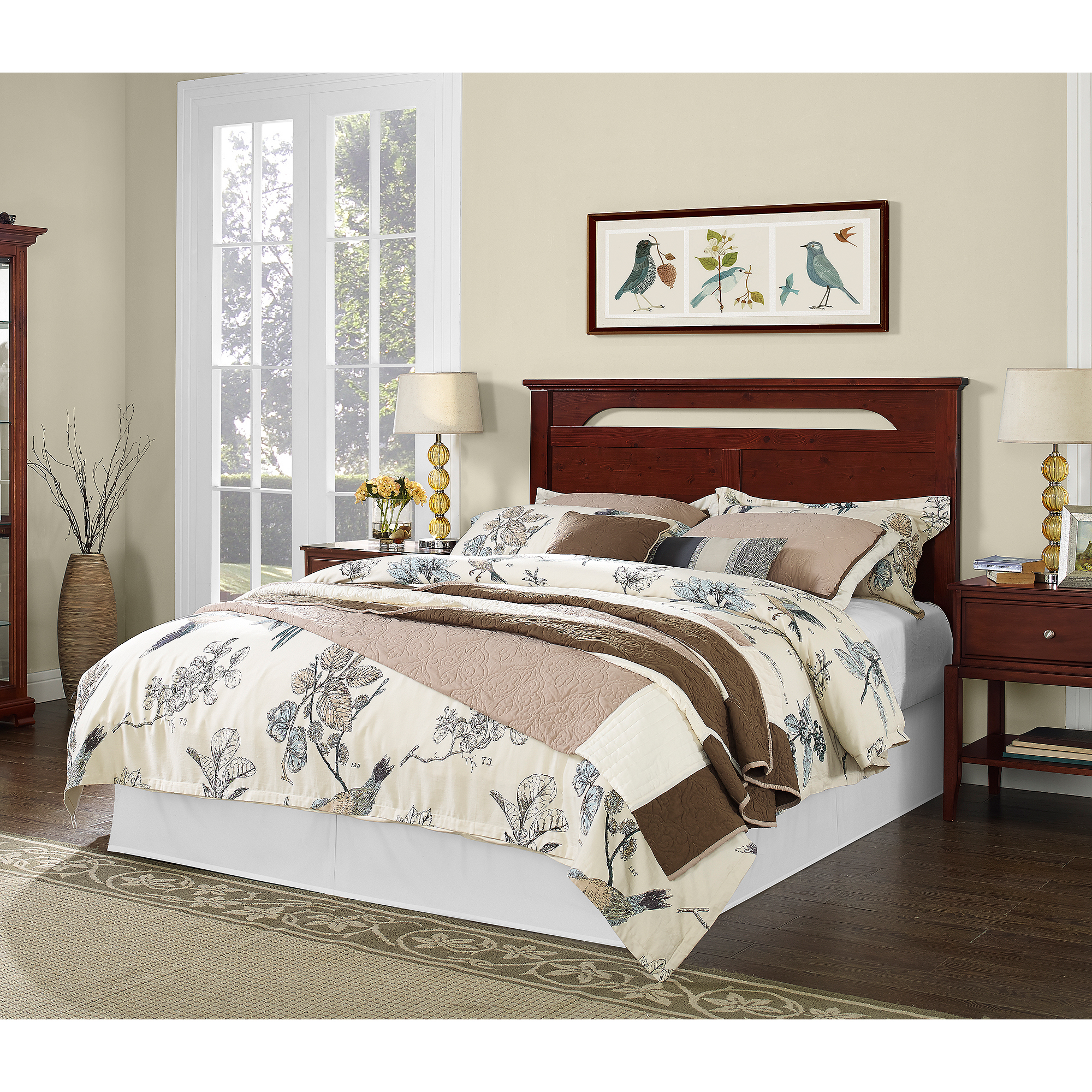 Dorel Living Full/Queen Headboard, Cherry