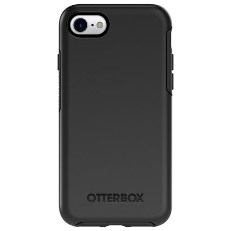OtterBox Symmetry Series Case for iPhone 8 & iPhone 7, Black (Otter Box Cases For I Phone 4)