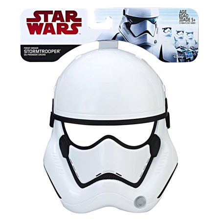 Star Wars: The Last Jedi First Order Stormtrooper Mask - Star Wars Mask
