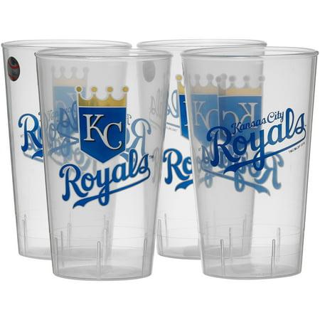 Kansas City Royals 16oz. Acrylic Tumblers 4-Pack Set - No - Kansas Acrylic