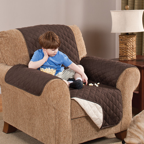 AdNArt Home Solutions Reversible Chair Furniture Slipcover