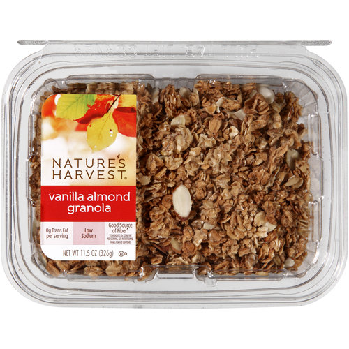 Nature's Harvest Vanilla Almond Granola, 11.5 oz