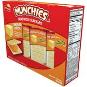Munchies Cheddar Cheese Sandwich Crackers, 8 Packs