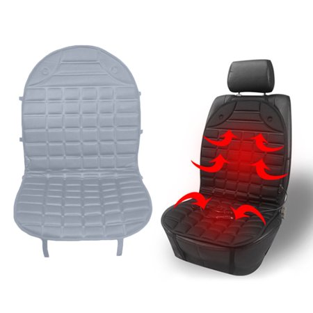outad durable car seat heated cover 12v front seat heater auto