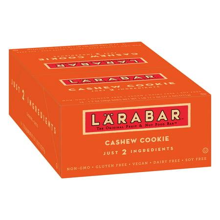 Larabar Gluten Free Bar, Cashew Cookie, 1.7 oz Bars (16 Count)