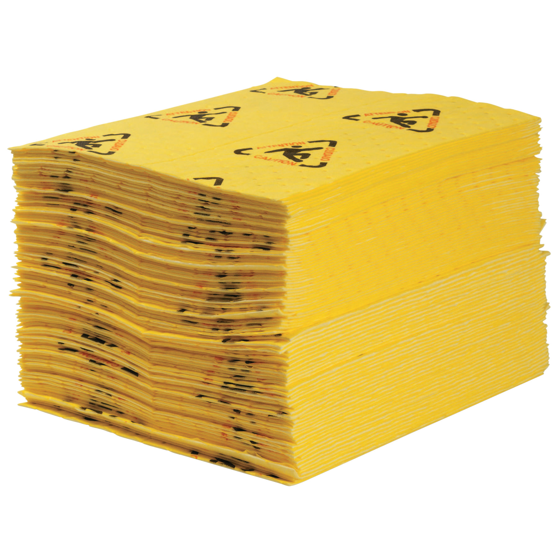 SPC SPC High Visibility Safety & Chemical Absorbent Mat, Abs 3 gal, 15 in x 19 in