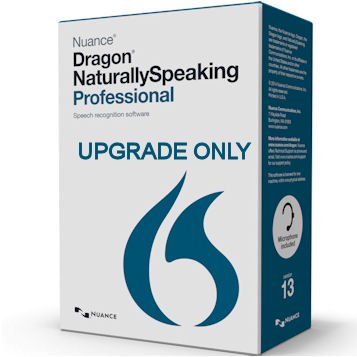 Nuance A290A-SC7-13.0  Dragon Naturally Speaking Professional 13.0 Upgrade from Premium 11 and 12 - Upgrade Only ()