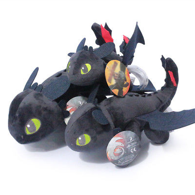 10 How To Train Your Dragon Toothless Night Fury Stuffed Animal
