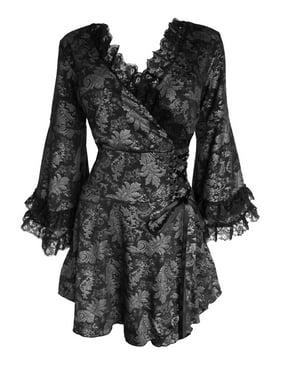 Dare To Wear Gothic Boho Women's Victoria Corset Top S - 5x