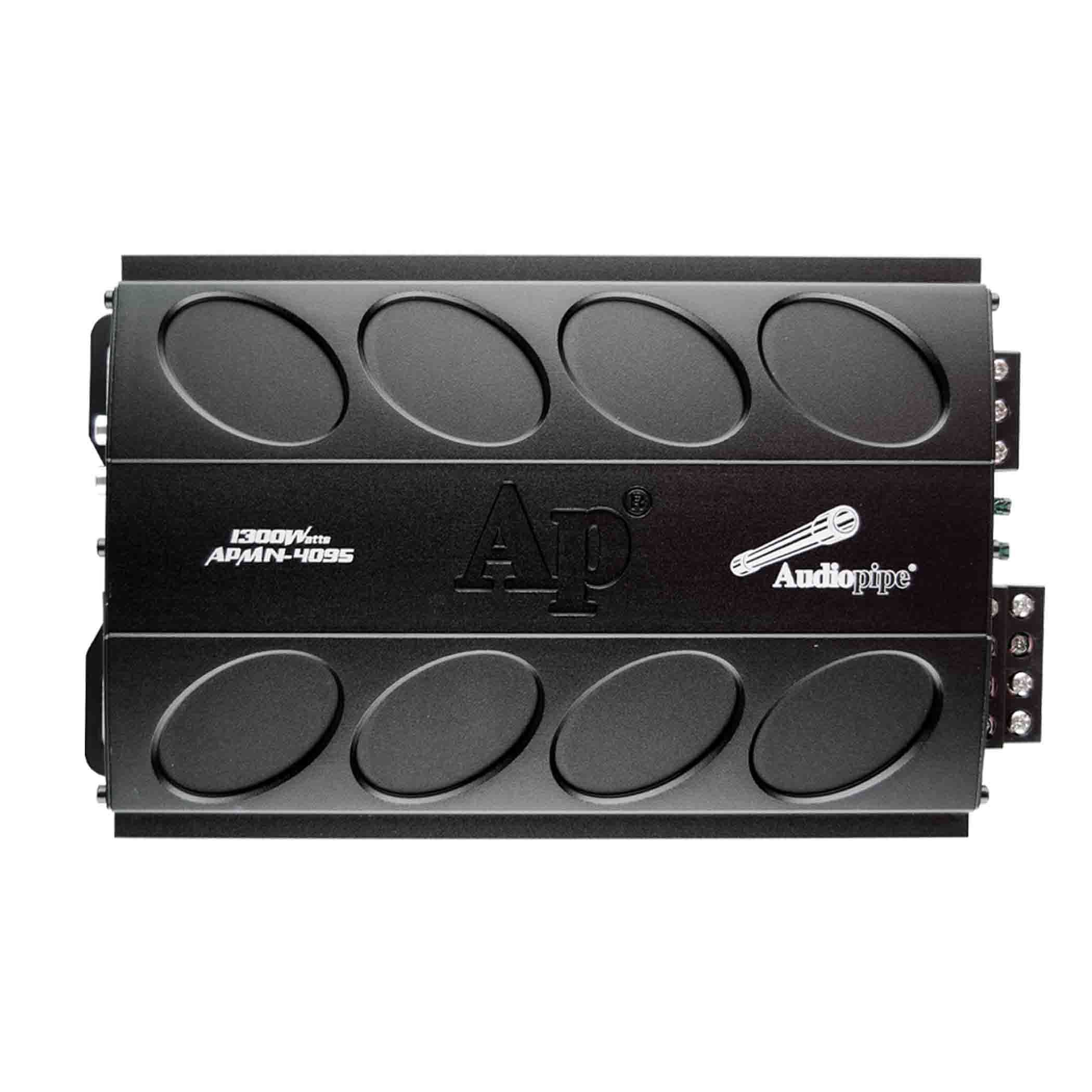 APMN4095 Audiopipe Mini 4 Channel 1300w Amp