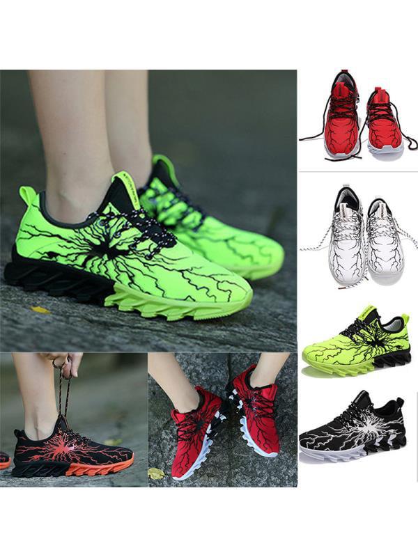 Meigar 2019 New Men's Athletic Sneakers Shock Absorbing Outdoor Sport Shoes
