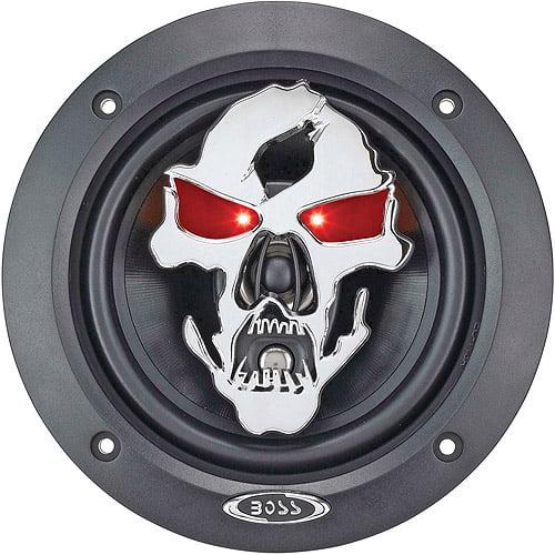 """Boss Audio Audio SK553 - PHANTOM SKULL 275 Watt 5.25"""" 3-Way, Car Speakers Car Speakers (Pair of Speakers)"""