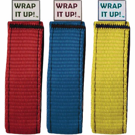 World Industries Wrap It Up Hook And Loops Wrap  3 Per Pack