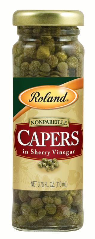 Roland Nonpareil Capers with Sherry Vinegar, 3.75 Oz by Roland Corporation