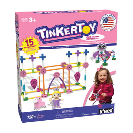 Knex Limited Partnership Group 2 Packs Tinkertoy Pink Set