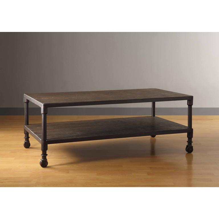 Madison Park Cirque Coffee Table In Grey
