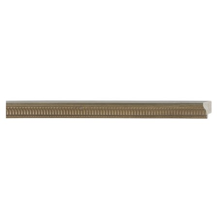 Picture Frame Moulding (Wood) - Traditional Pewter Finish - 1