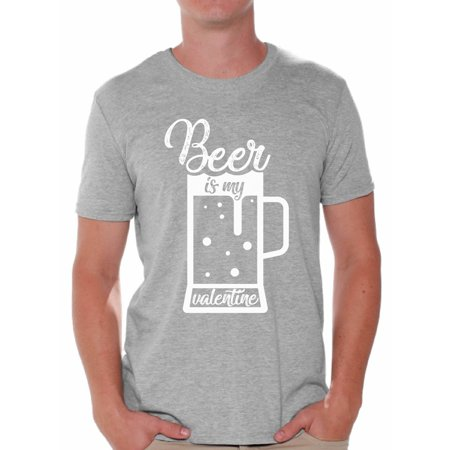 Awkward Styles Awkward Styles Beer Is My Valentine Shirt Beer