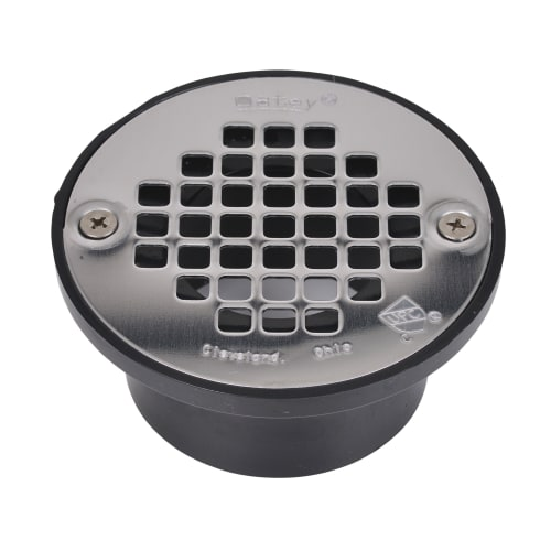 "PROFLO PF42930 2"" or 3"" ABS Shower Drain with 4"" Stainless Steel Strainer"