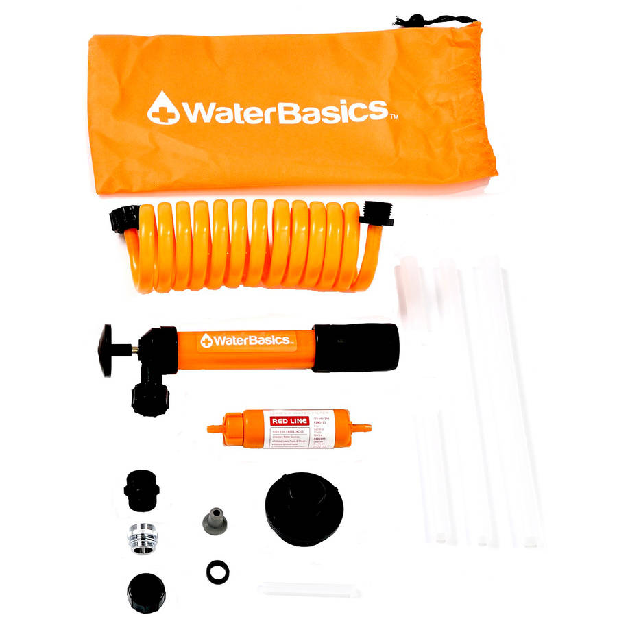 WaterBasics  Emergency Pump and Filter Kit, RED-II-120