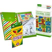 Crayola Adult Coloring Travel Tablet Portfolio