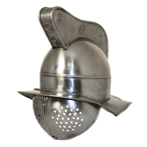 EC World Imports Antique Replica Roman Gladiator Fighter Visor Helmet by ecWorld