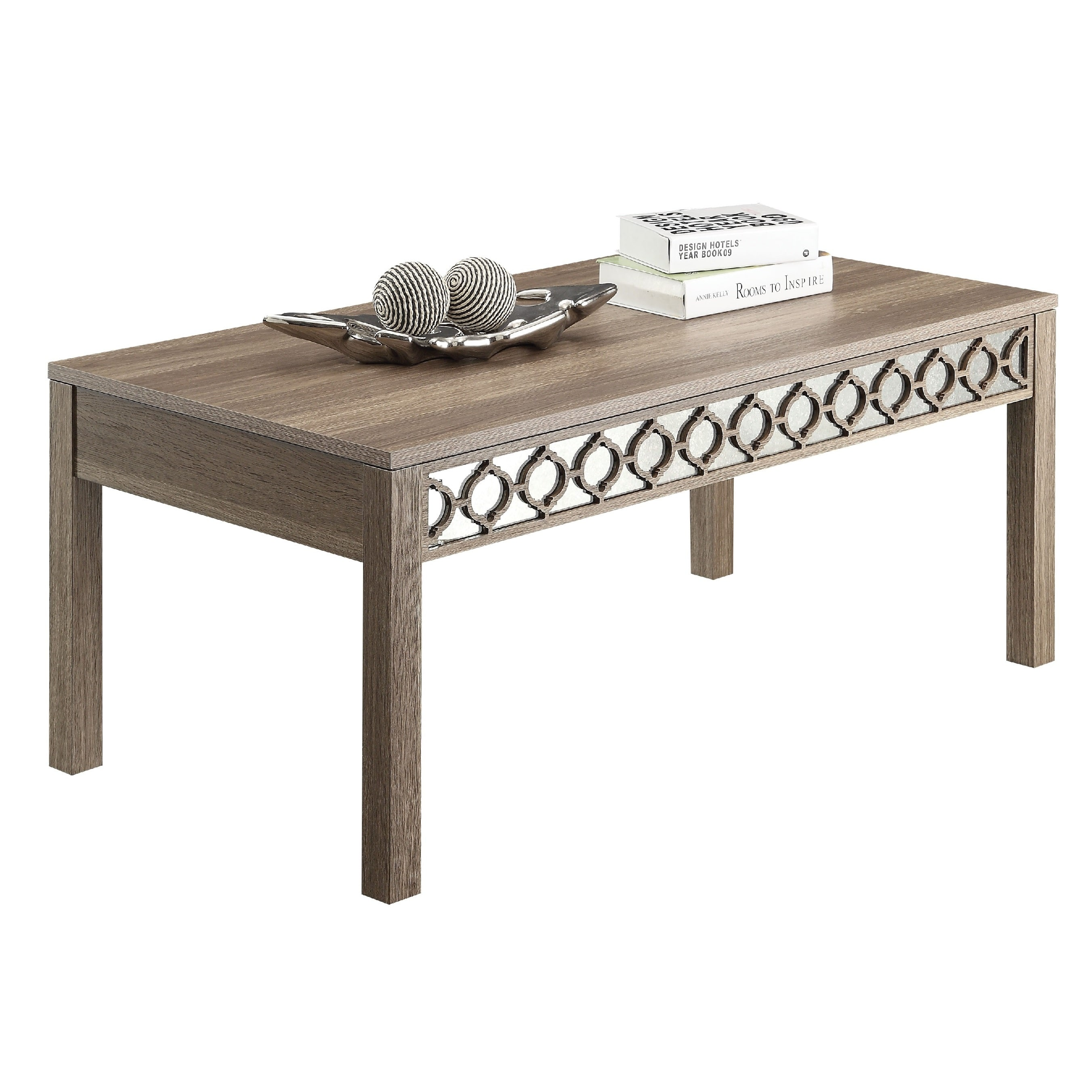office star products helena sun-bleached oak coffee table