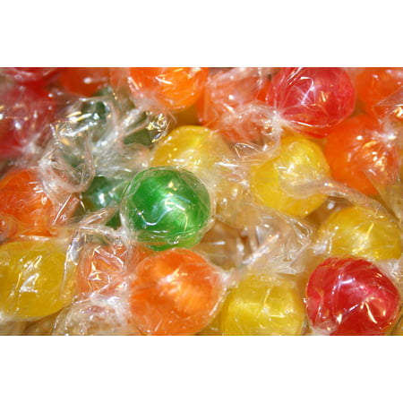 Leaves Hard Candy (BAYSIDE CANDY SOUR BALLS HARD CANDY,)