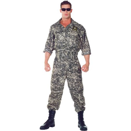 us army jumpsuit adult halloween costume - Halloween Army Costumes
