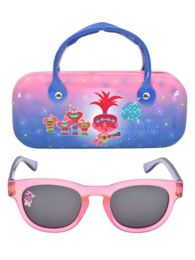 Trollz Girl's Sunglass and Case Set