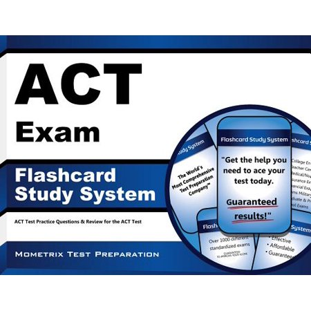 ACT Exam Flashcard Study System : ACT Test Practice Questions and Review for the ACT