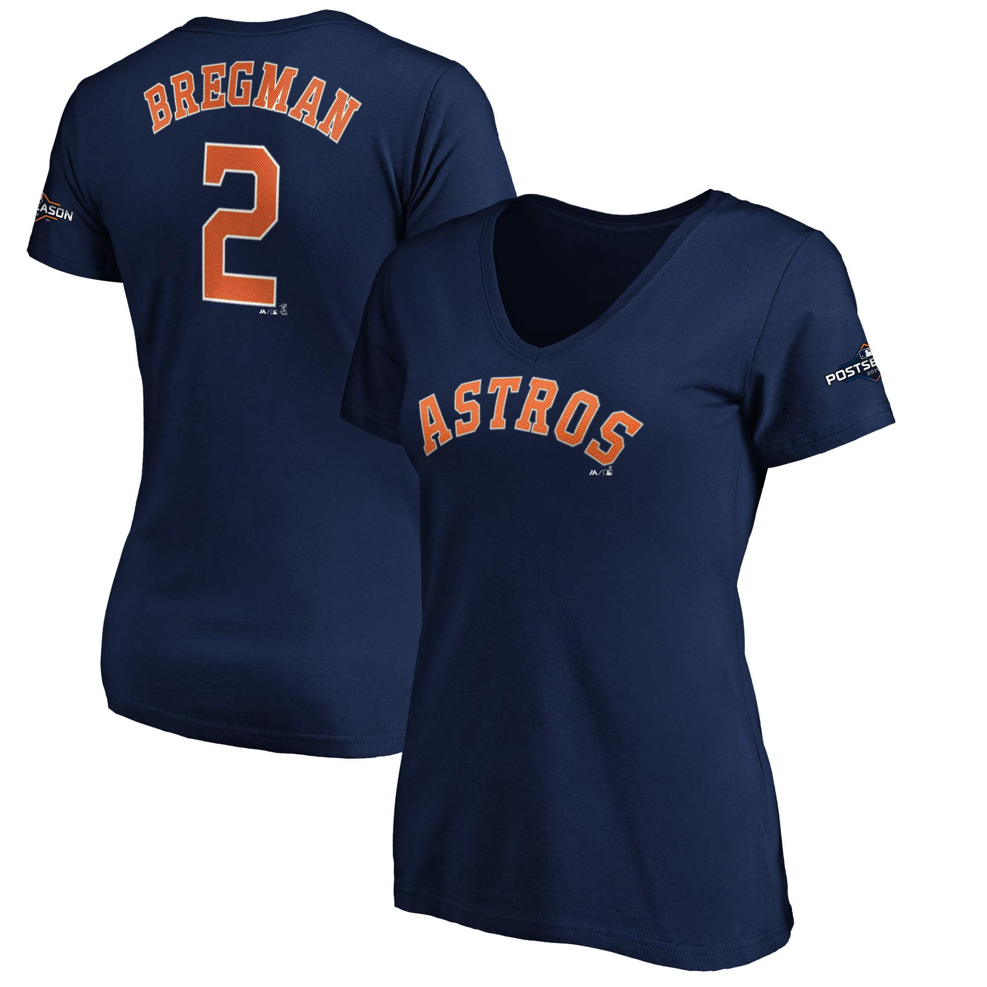Alex Bregman Houston Astros Majestic Women's 2019