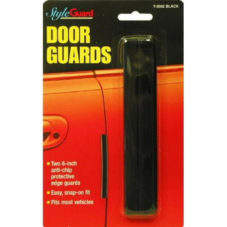 Chrome Stick-On Door Guards
