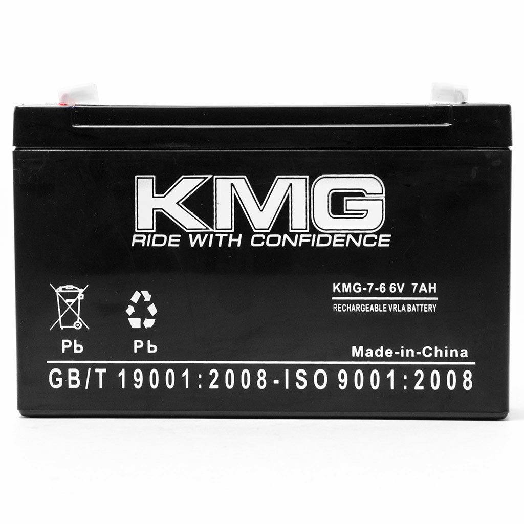 KMG 6V 7Ah Replacement Battery for Kung Long WP8-6S - image 2 de 3