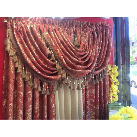 Empire Home Traditional Jacquard Olivia Window Curtain Panel Drapery- NEW ARRIVAL - ( 84