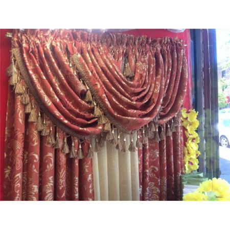 Empire Home Traditional Jacquard Olivia Window Curtain Panel Drapery- NEW ARRIVAL - ( 95