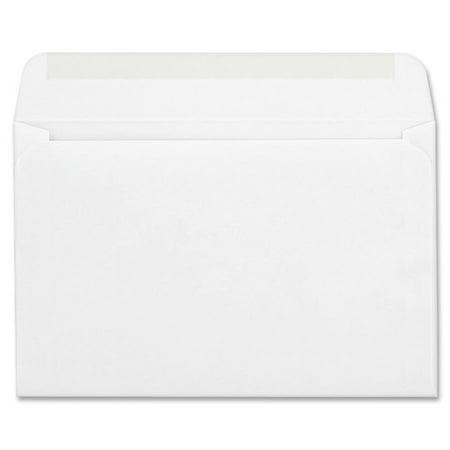 Crane & Co Correspondence Envelopes (Columbian, QUACO298, Greeting Card Gum Seal Envelopes, 100 / Box,)