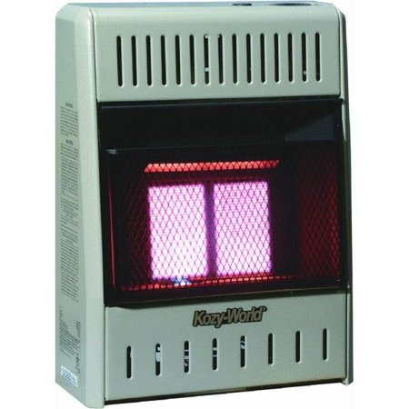Kozy-World 2 Plaque Infrared Vent-Free Gas Heater
