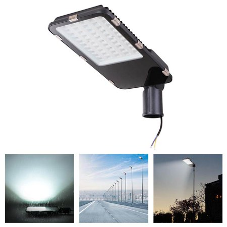 DELight® 50W LED Road Street Light 5000LM IP65 6500K Parking Lot Floodlight Lamp