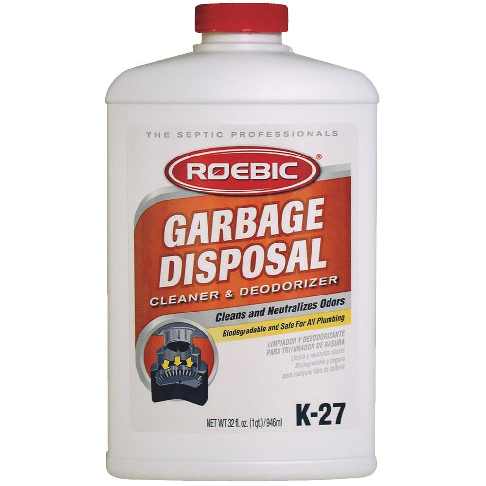 ROEBIC LABORATORIES INC Garbage Disposal Cleaner, Qt. K-27-Q-12