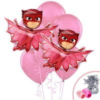 Pj Masks Party Supplies Owlette Jumbo Balloon Bouquet