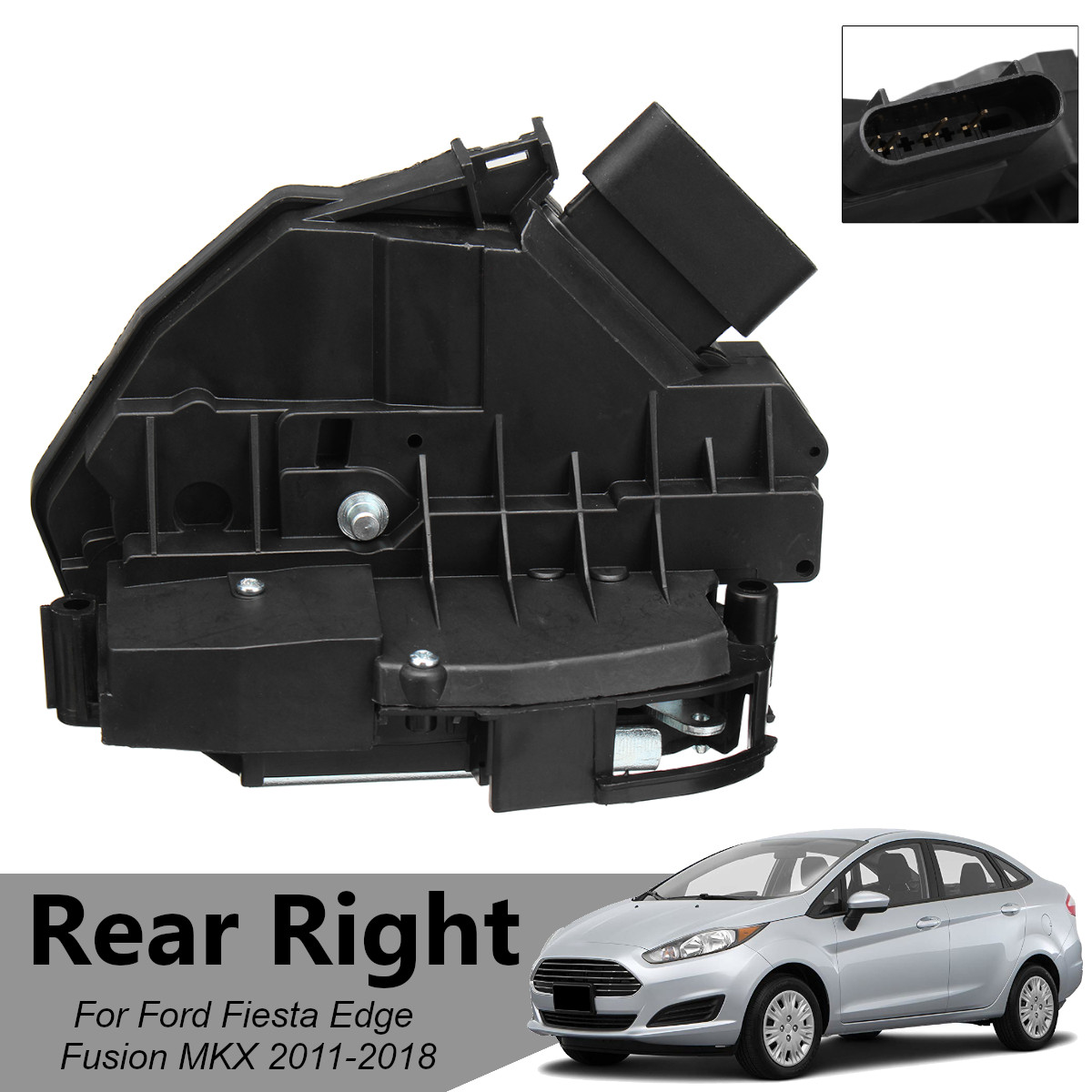 Rear Right Passenger Door Lock Latch Actuator For Ford Fusion Fiesta Edge MKX