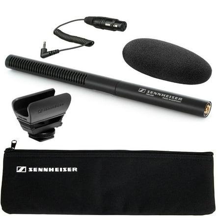 Sennheiser MKE-600 Shotgun Camcorder Microphone + Sennheiser KA600 Adapter Cable (Sennheiser Shotgun Microphone)
