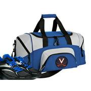 Small University of Virginia Gym Bag or Compact UVA Duffel Bag