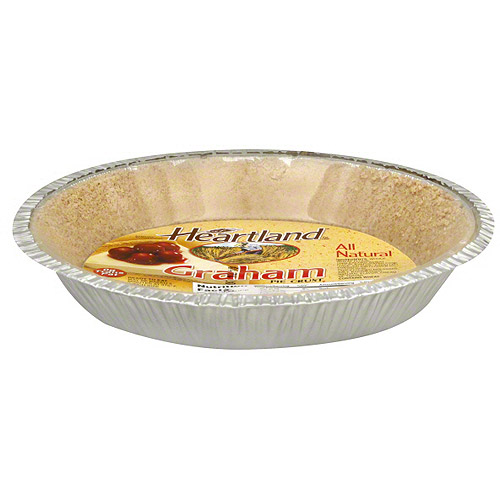 ***Discontinued by Kehe 07_20***Heartland Graham Pie Crust, 6 oz (Pack of 12)