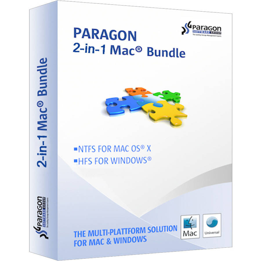 Paragon 403PEEBL1 2-in-1 UFSD Windows & Mac Bundle (Email Delivery)