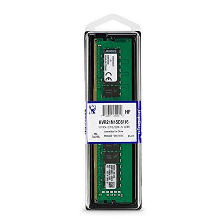 KINGSTON 16GB 2133MHZ DDR4 CL15 DIMM 2RX8 - image 1 de 4